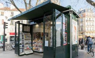 Le renouvellement des 409 kiosques à journaux de la capitale s'échelonnera jusqu'en 2019 (Illustration).