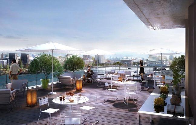 Le complexe hôtelier de Radisson Blu comprendra 1.000 mètres carrés de terrasses