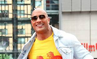 Dwayne Johnson le 30 mai 2017 à Berlin.