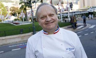 Le chef Joël Robuchon, à Monaco, le 17 novembre 2012.