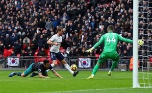 Harry Kane a inscrit un triplé lors du Boxing Day contre Southampton, le 26 décembre 2017.