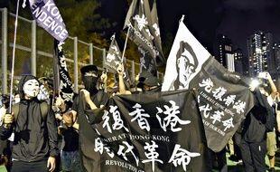 Manifestations à Hong Kong contre une loi controversée, le 4 juin 2020.