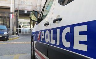 Une voiture de police à Marseille (illustration).