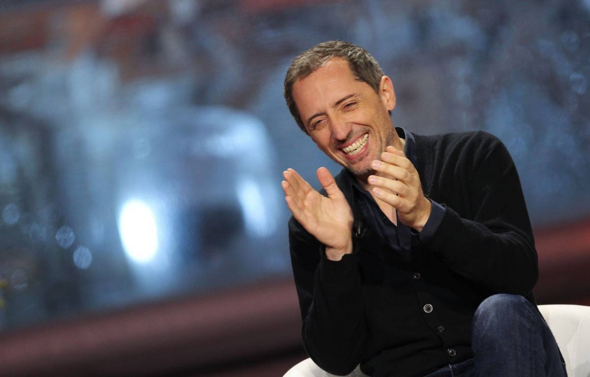 Gad Elmaleh attends the  photocall  of TV Show Un soir a l'Alpe d'Huez during the International Festival of Comedy Movies of Alpe d'Huez. Alpe d'Huez, France - 16/01/2015/COLLET_1741.127/Credit:Guillaume Collet/SIPA/1501171813 – guillaume Collet/Sipa