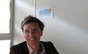 Thomas Boisserie, responsable du site Loisirsenchères.com