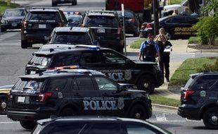 Une fusillade dans un journal du Maryland a fait au moins cinq morts, le 28 juin 2018.