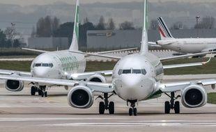 Des Boeing 737 NG de la compagnie Transavia à l'aéroport d'Orly (illustration).