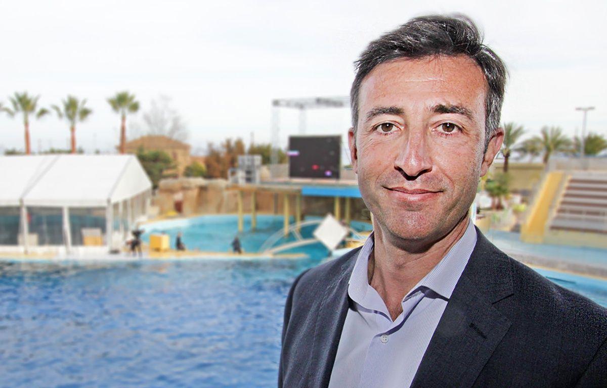 Arnaud Palu a pris ses fonctions en janvier à la tête de Marineland – F. Binacchi / ANP / 20 Minutes