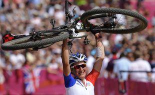 Julie Bresset avait décroché l'or olympique le 11 août 2012 à Londres.