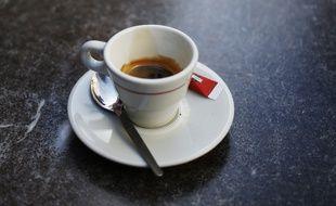 Image d'illustration d'une tasse de café.