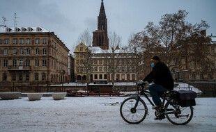 Après la neige, il va encore faire très froid à Strasbourg.