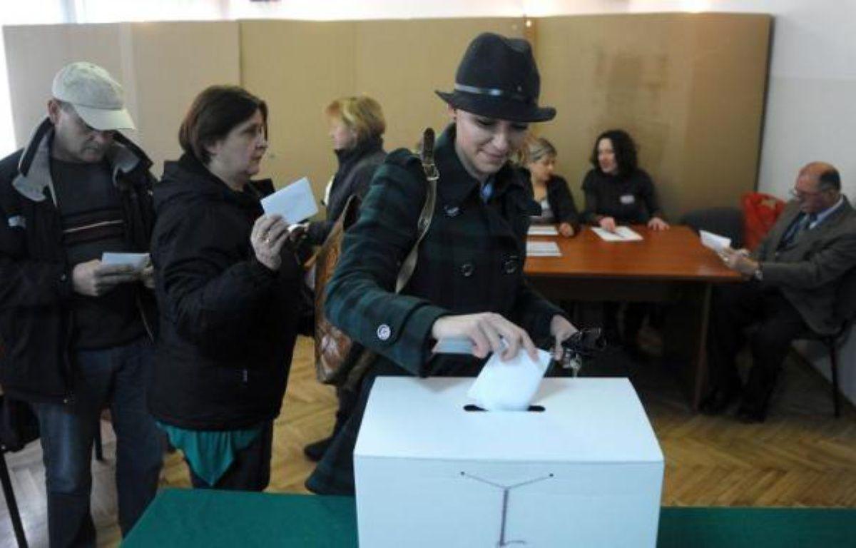 Les militants pour les droits de l'Homme déploraient lundi le résultat du vote au référendum organisé la veille, lors duquel les Croates ont dit non au mariage homosexuel, dans ce pays catholique et conservateur, membre de l'UE depuis juillet. –  AFP