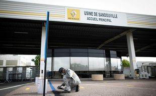 Les ouvriers de l'usine Renault de Sandouville ont pu reprendre le travail.