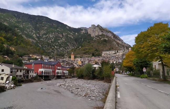 Le village de Tende n'est pas accessible par la route, ni en train