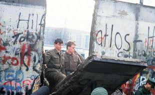 La chute du mur de Berlin, en novembre 1989.