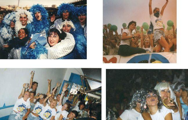 Quelques photos du groupe de supportrice de l'OM