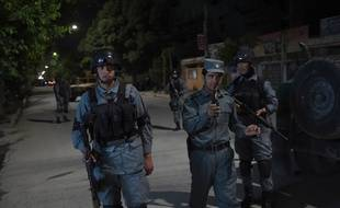 Une attaque revendiquée par les talibans a eu lieu à Kaboul, en Afghanistan, le 13 mai 2015.