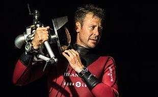 Le plongeur Laurent Ballesta