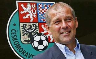 Le sélectionneur tchèque, Petr Rada, au moment de sa nomination, le 3 avril 2008.
