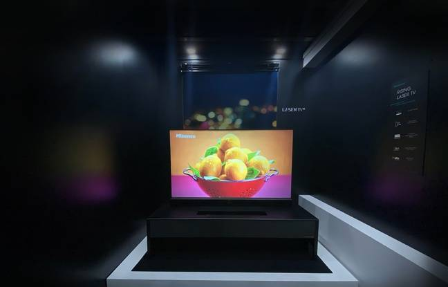 Le TriChroma Laser TV de Hisense peut afficher une image jusqu'à 75 pouces, soit 190 cm de diagonale.