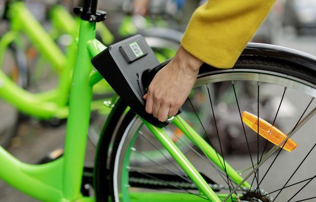Les vélos en libre service Gobee.bike ont été déployés le 12 décembre à Lyon.