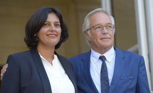 Myriam El Khomri a pris la succession de François Rebsamen au ministère du Travail mardi 2 septembre 2015.