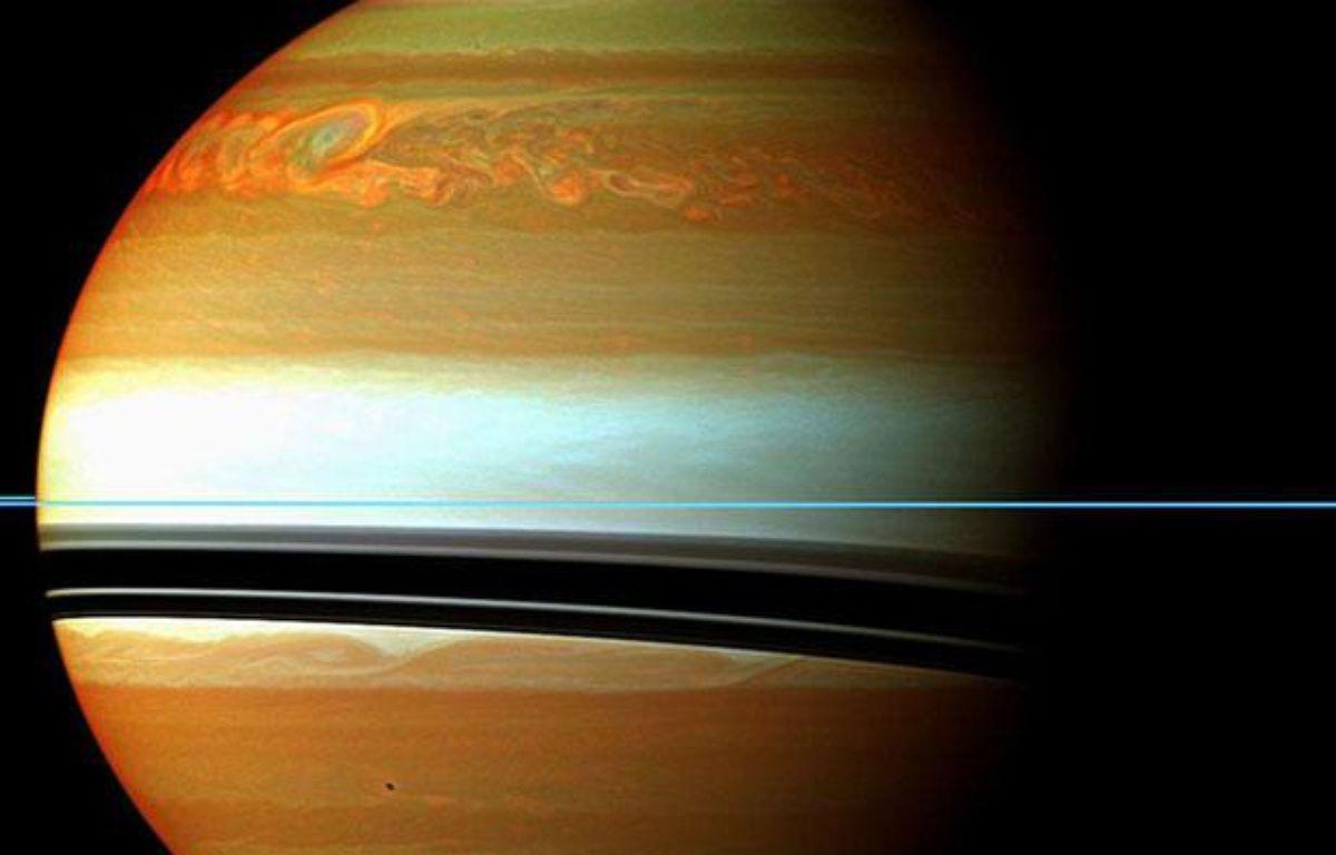 Les images de la sonde Cassini de la tempête géante dans l'hémisphère nord de Saturne – AP/SIPA
