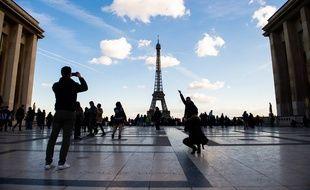 Le parvis du Trocadéro à Paris (image d'illustration).