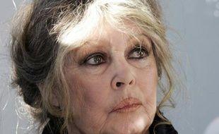 Brigitte Bardot, le 28 décembre 2005 à Nice