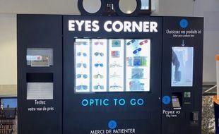 Le distributeur de lunettes