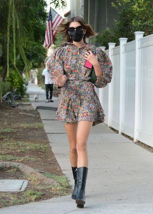 Kaia Gerber, le 22 septembre, à Los Angeles.
