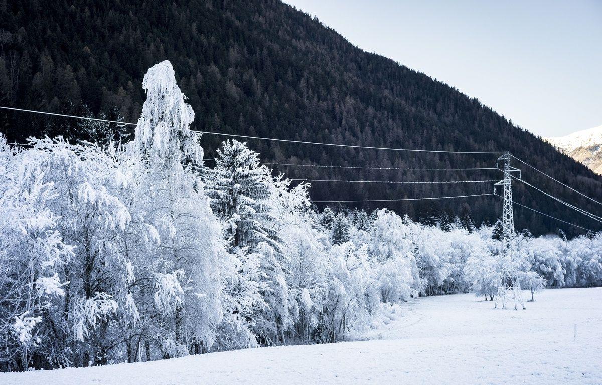 A Seez (Savoie), le 18 décembre 2016, en aval de Tignes et Val-d'Isère. – SIPA