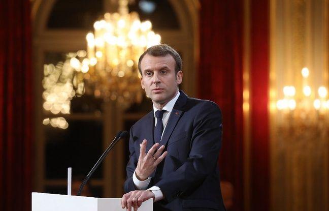 Voeux à la presse: Emmanuel Macron annonce une loi sur les «fake news»