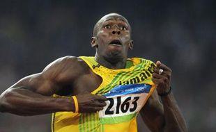 Bolt s'est arraché pour battre ce record.