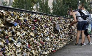 Le Pont des Arts à Paris