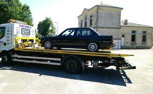 Contrôlé à 187 km/h au lieu de 80 km/h, le véhicule a été immobilisé.