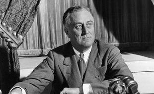 Le Président Franklin Delano Roosevelt en 1933.
