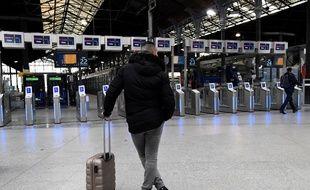 Gare Saint-Lazare à Paris, le 3 avril 2018.