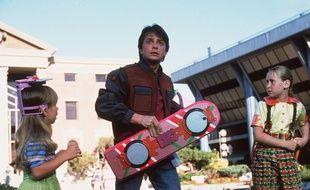 Michael J. Fox dans Retour vers le futur 2.