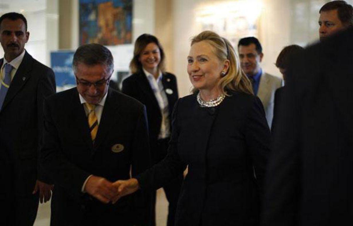 Hillary Clinton à Tunis, le 24 février 2012. – REUTERS/Jason Reed