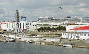 En construction depuis trois ans, le Norwegian Epic laissera un vide aux chantiers STX.