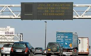 En cas de pic de pollution, la vitesse est réduite de 20 km/h, mais la mesure reste une recommandation.