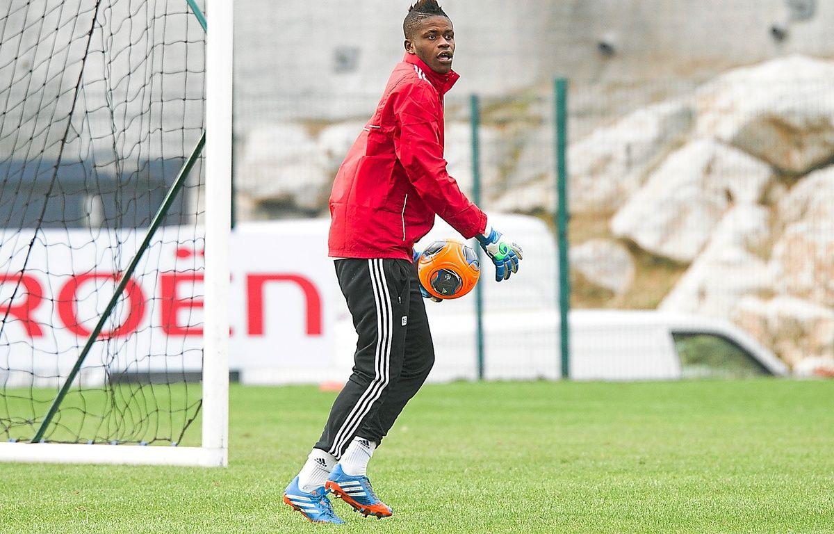 Arrivé à 18 ans à l'OM, le jeune gardien de but Brice Samba a été formé par le club du Havre en Normandie.  – P.Magnien / 20 Minutes