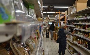 A la Cagette, supermarché coopératif de Montpellier