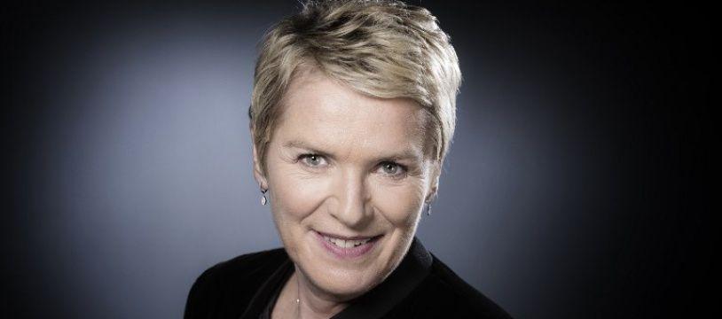 Elise Lucet, journaliste, le 13 octobre 2017 à Paris