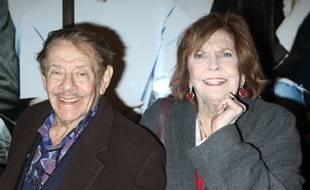 Le comique Jerry Stiller avec sa femme Anne Meara, décédée en 2015