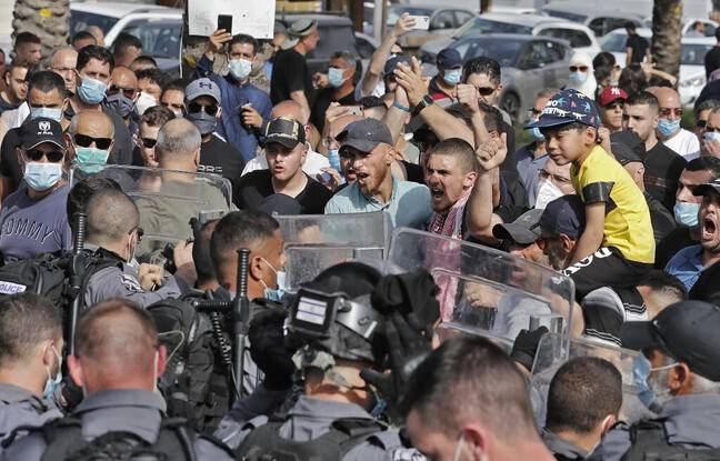 648x415 lors emeute arara ville arabe israelienne 14 mai