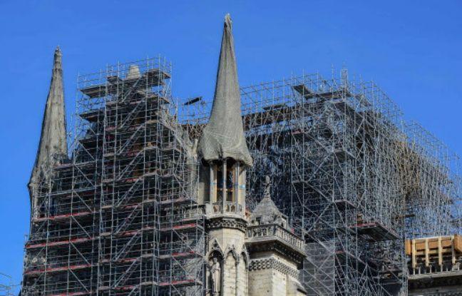 Incendie à Notre-Dame-de-Paris: L'échafaudage peut encore s'effondrer, dit l'architecte