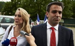 Antoine Mellies (à droite), suspendu du RN pour un an.