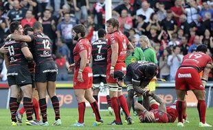 Toulon, battu à Toulouse (13-12) le 26 octobre 2013.